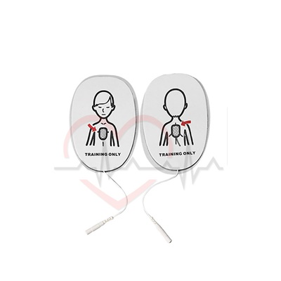 AED Trainer Pads XFT Child. AED Replacement Training Pads for XFT 120C AED Trainer. Pack of 3 Pairs. Bangkok First Aid Thailand.