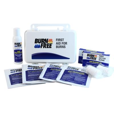 BurnFree Medium First Aid Kit for Burns. Burn Aid Kit. Burn Injury Treatment. Burn Wound Dressing. Bangkok First Aid Thailand