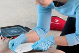 AED Machine, How to Use it. First Aid Tips. First Aid Blog. AHA CPR AED Training and Certification and How to Use Them