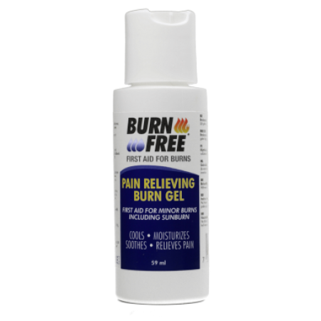 BurnFree - Pain Relieving Gel, 2 oz (60ml) Bottle