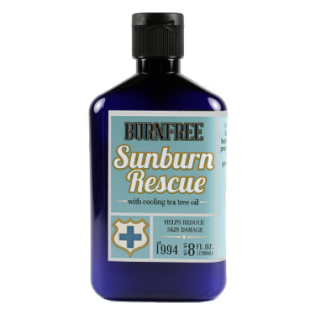 BurnFree - Sunburn Rescue Pain Relieving 8 oz (238 ml) - Bottle