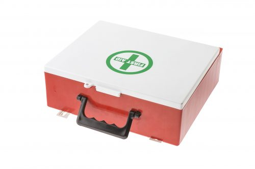 Mountable First Aid Cabinet 130 pcs